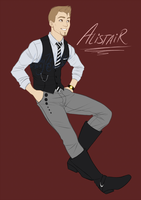 Dragon Age - Modern Alistair by LadyZolstice