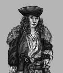 Pirate Lady doodle by The-Purring-Teapot