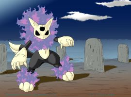 EEDAN: GHOST TYPE by PEQUEDARK-VELVET