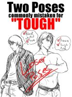 Tough Guy Poses - NOT by Stock-Heil