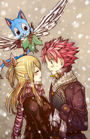 Merry Christmas [NaLu] [1] by LeonS-7