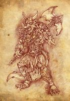 Amon, Marquis of Hell by hawanja