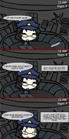 Playing Five Nights At Freddy's - Night 4 by Kiwi612