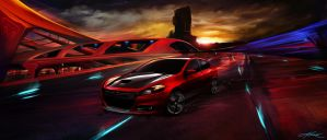 Dodge Dart - Living City by AMD-Design