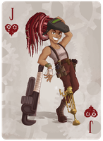 Mechanic: Jack of Hearts by PunchCawa