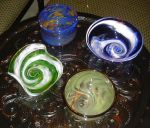 Glass Bowls by MonkeyManx