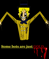 Just Gold (Human) by TheUltimateSpiderFan