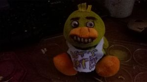 Plush' Chica [FNAF] by AnimHorseAndWolf
