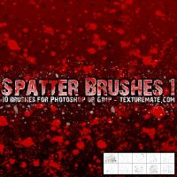 Spatter 1 Brush Set by AscendedArts