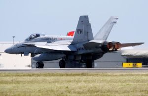 Boeing MDD F-18A Takeoff by shelbs2