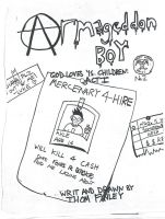Armageddon Boy Issue 2 Cover by Angryviking