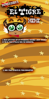 El Tigre Meme Base by SuperMacho