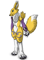 renamon by wolfhound56200