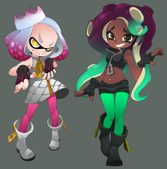 Pearl and Marina by bleedman