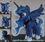 Princess Luna plush by agatrix
