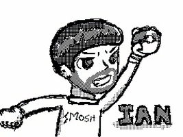 Smosh - Flipnote Ian Drawing by hopeabandoner
