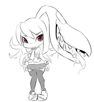 Mawile as Filia by HearlessSoul