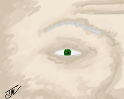 Old Man First Tablet Drawing by Tay-X