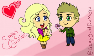Steroline cuteness by sexygoddamon