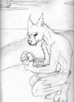 A Werewolf's Pain by Nimbo-Stratus