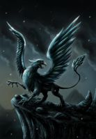 Dark Gryphon by Pixx-73