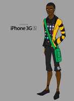 My iPhone 3GS by Rotae