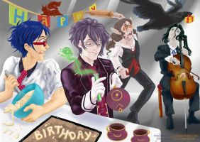 Happy Birthday TheFredricus by TheCuriousFool