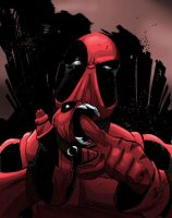 Deadpool by LewisTillett