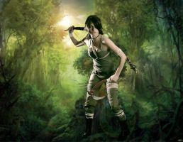 Lara Croft Reborn contest by ImyAnt