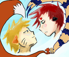 NaruGaara by Shadow-Person