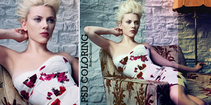 Scarlett .PSD Coloring by RoseCabriolet