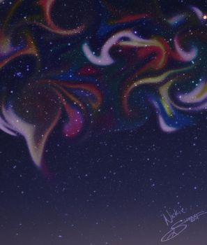 Painted Universe by NightSongWriter