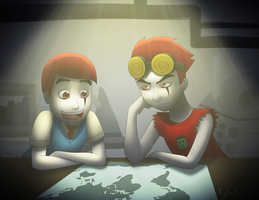 Planning for World Domination by northstar2x