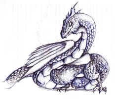 Hospital Sketches: Basilisk by lmerlo72