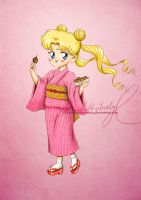 Matsuri Girl: Usagi by MoonchildinTheSky
