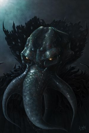 Illithid by CindyAA