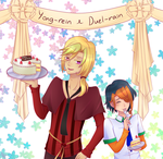 HBD YONG-REIN AND DUEL-RAIN by Kumano-san