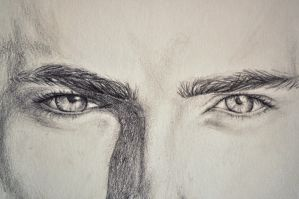 Matt Bomer Eyes by AinhoaLG