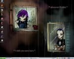 rainy desktop.. by neurotic-elf