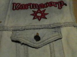 WIP- Battle Vest - Local Metal Bands 18 by Gothicdarkness