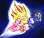 Super Shadow and Amy Rose by sensum