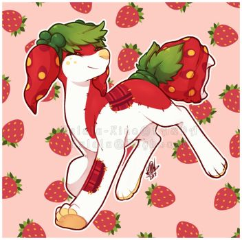 . strawberry child . by kululu-xiao
