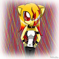 PC for drawingrandom-Cece the hedgehog by Kathy-the-echidna
