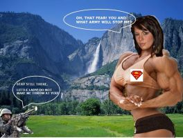 Muscle Montain Strong Woman 4A by ArchiveSW