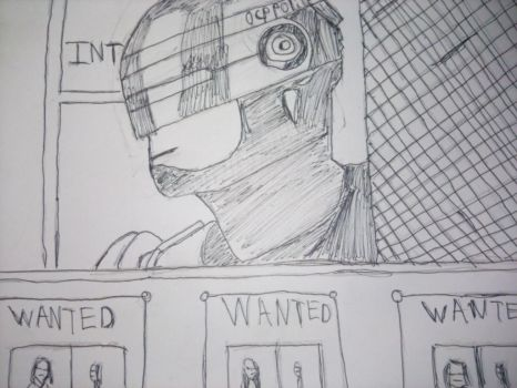 Robocop - Detroit Police Station by HannaBarberaScooby