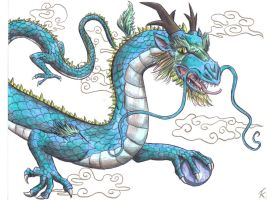 Japanese Dragon by DemonAnime-Bloodlust