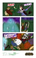 League of Legends Comic Contest Entry by CannibalisticBri
