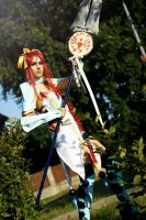 Erza Scarlet, Lightning Empress Armor - Fairy Tail by miits