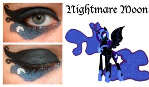 Makeup Is Magic Nightmare Moon by nazzara