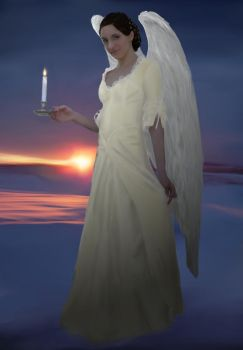 Angel of light by aldana07